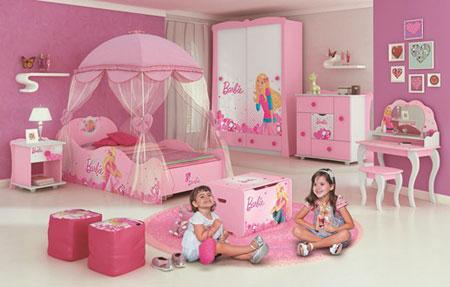 Quarto infantil da Barbie Pura Magia