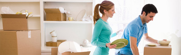 Organizar o armário da cozinha