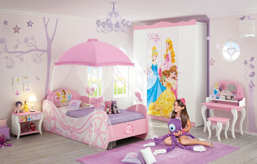 Quarto meninas Princesas
