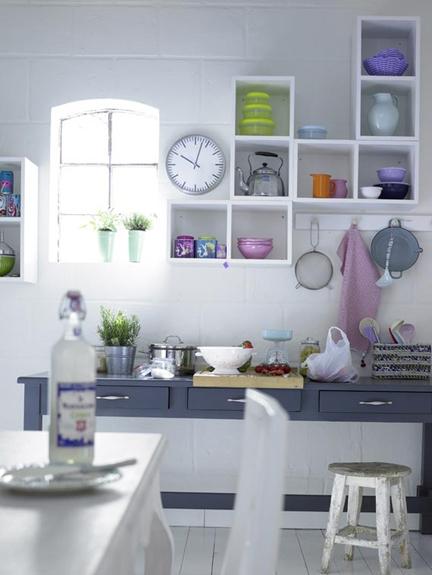 nichos na cozinha