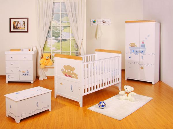 organizar quarto de bebê