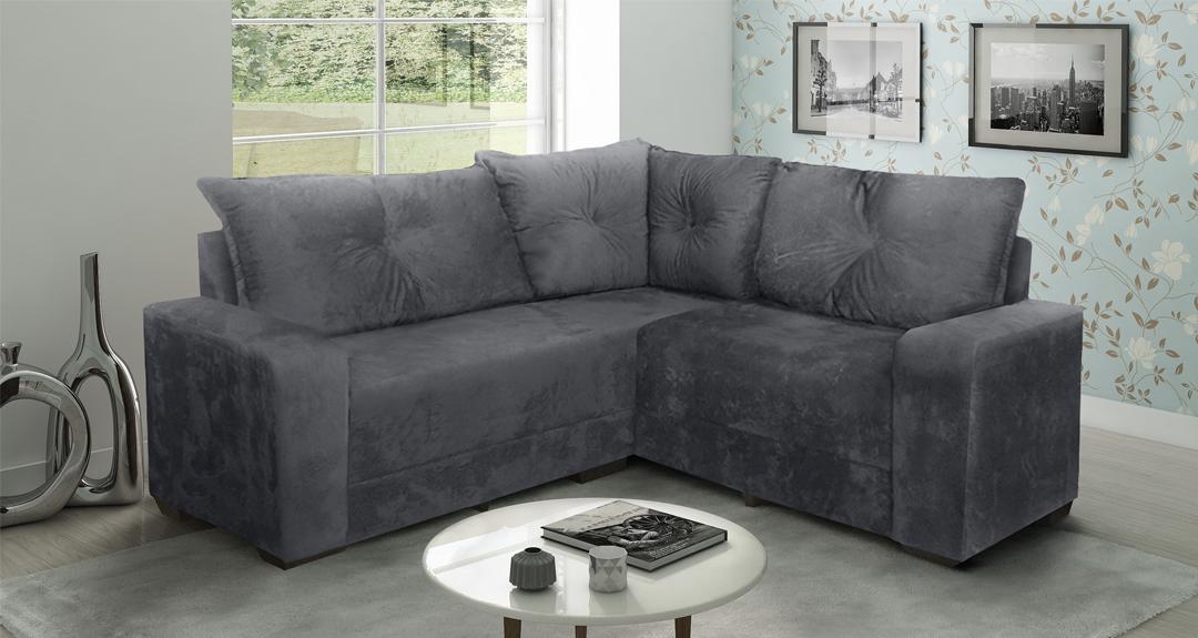 Sofá de Canto - Guia Completo - Saiba como escolher seu sofa!