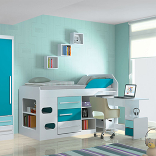 Escrivaninha para quarto de menino