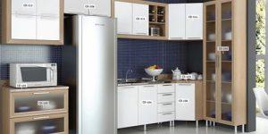Móveis para cozinha modulada completa