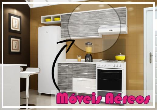 Móveis aéreos para cozinha