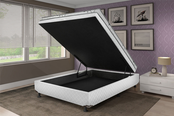 cama box com baú