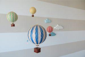 decorações balões quarto