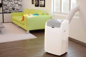 Como usar o ar condicionado portátil
