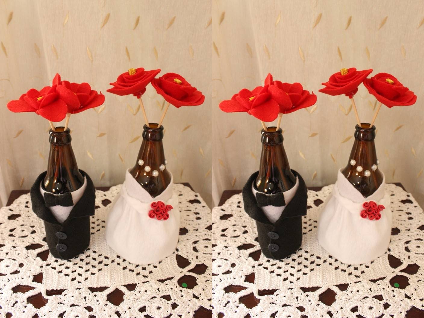 como decorar com TNT HomeIT -> Decoracao De Casamento Cm Tnt