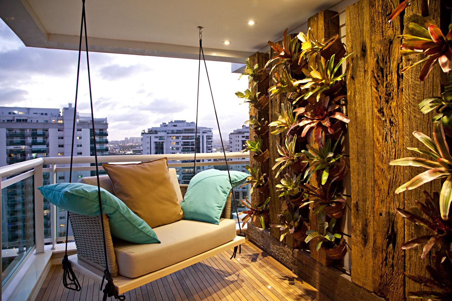 decoração de parede com plantas