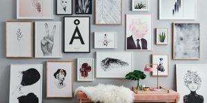 como decorar a casa com quadros