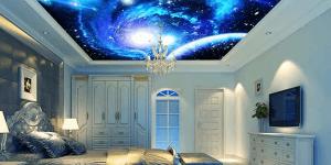 'Papel de parede 3D para quarto