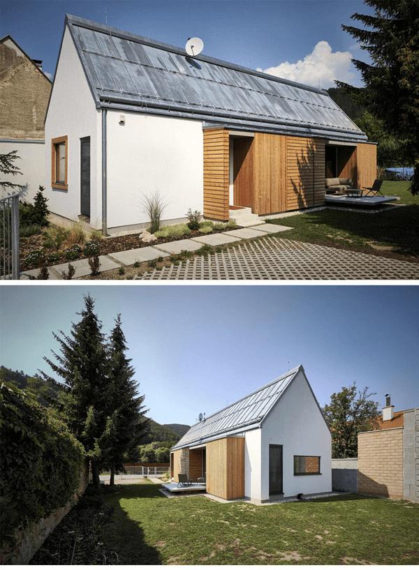 casa pequena moderna