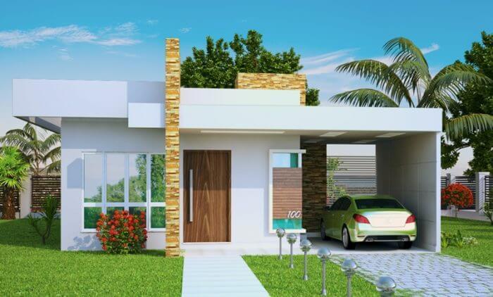 modelo de casa pequena