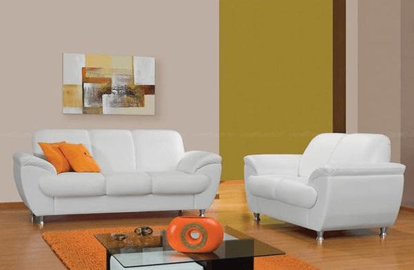 sofá tradicional branco