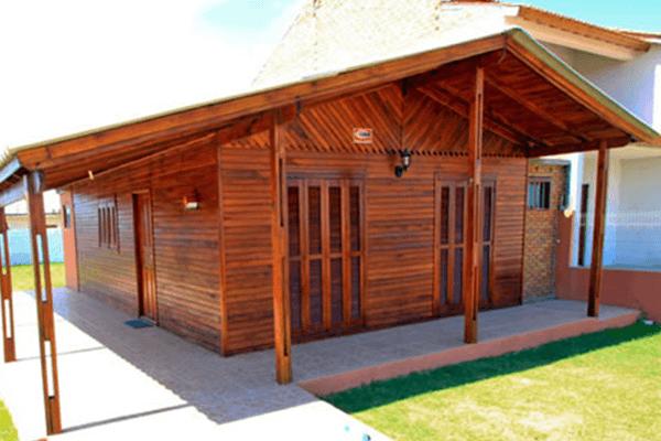 Pré-Fabricada de madeira