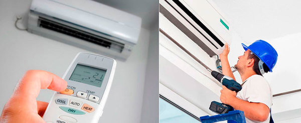 Instalação de ar condicionado2