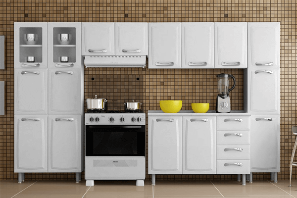Armário de cozinha: modelos e dicas para escolher!