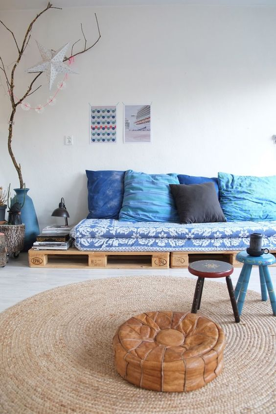 Sofá de palet para sala