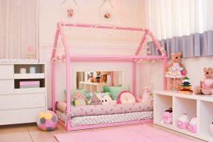 quarto montessoriano de menina