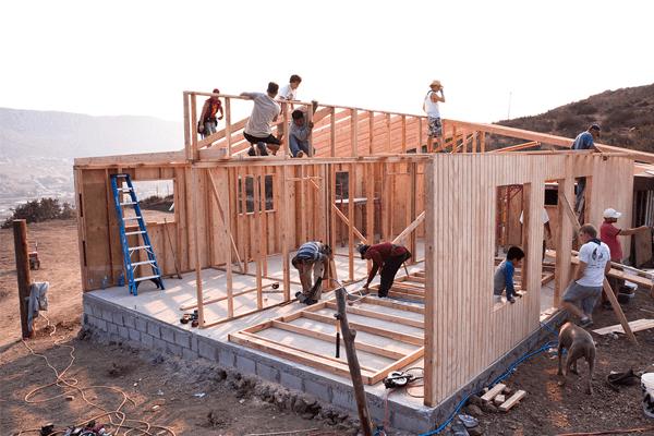 construir uma casa
