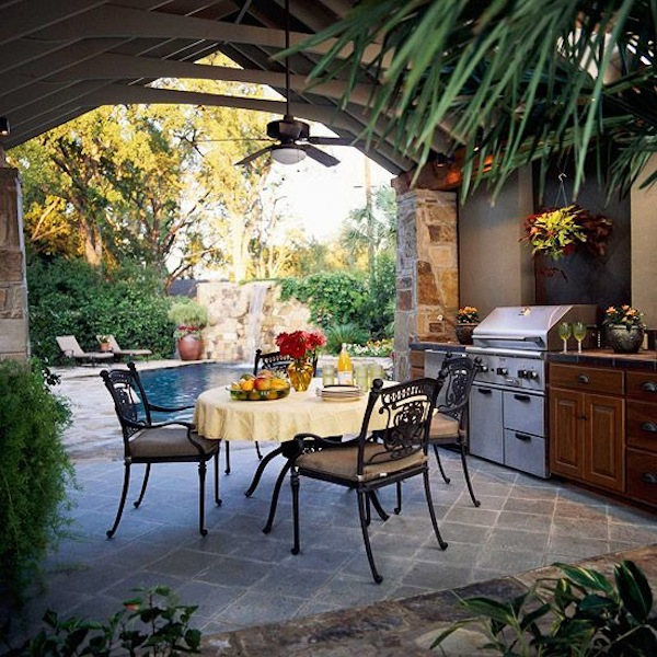 cozinha ao ar livre