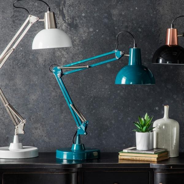 luminárias de mesa articuladas