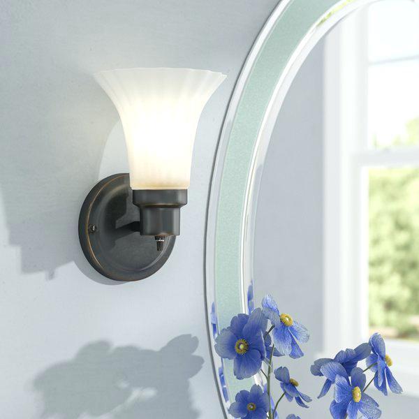 luminária de parede uplight