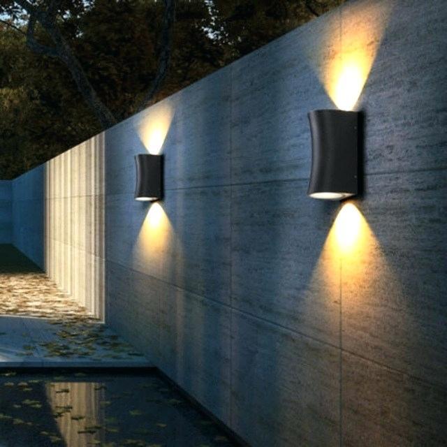 luminárias de parede externa