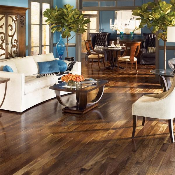 piso vinílico de textura de madeira