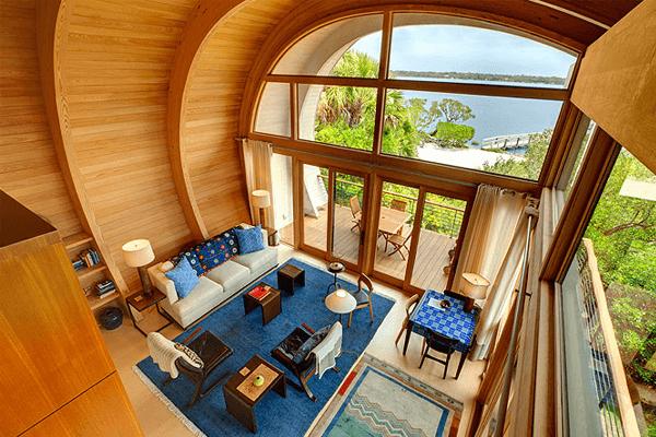 decoração casa de madeira