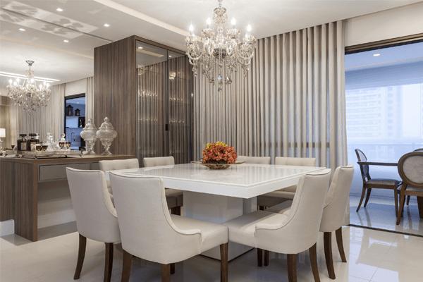 Como combinar o lustre e o restante da decoração