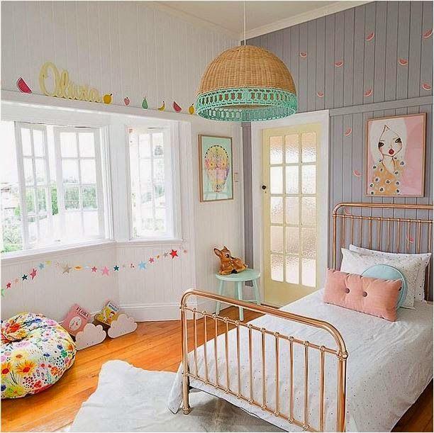 quarto infantil vintage 2020