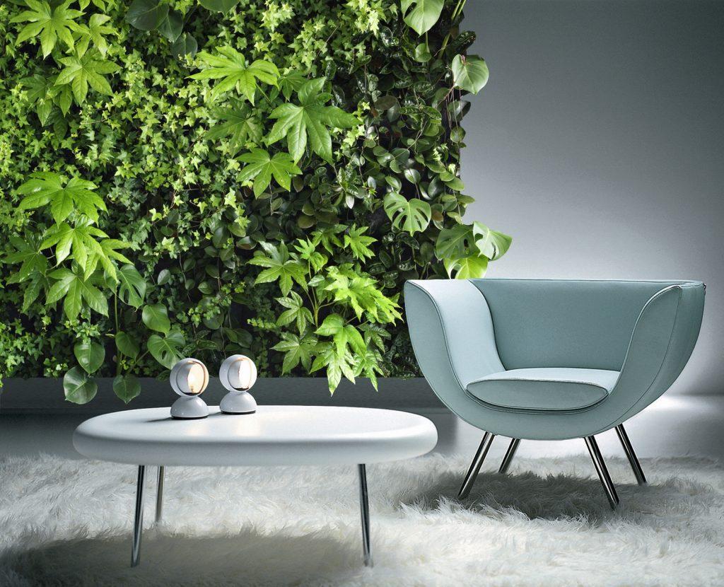 jardim vertical sala de estar 2020