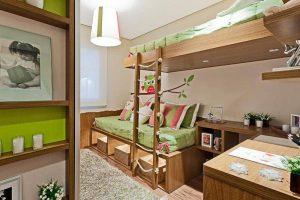 quarto infantil de madeira