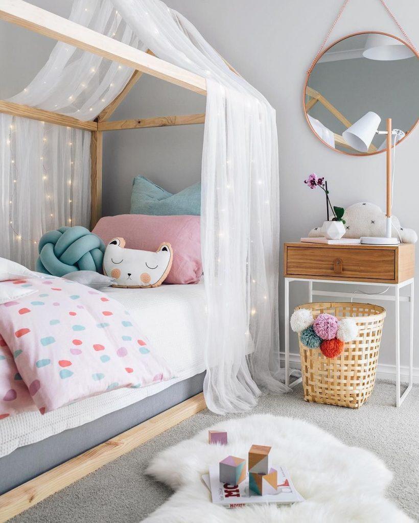 cama dossel quarto infantil