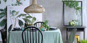 sala de jantar neo-mint