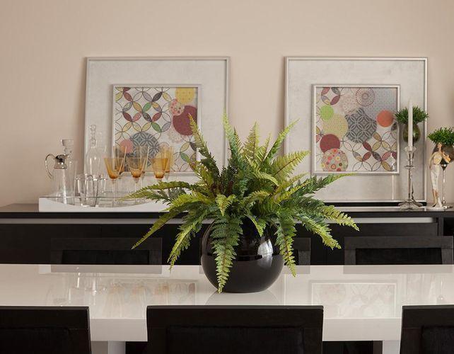 decoração vaso em mesa