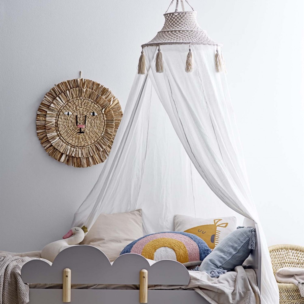 cama infantil com dossel