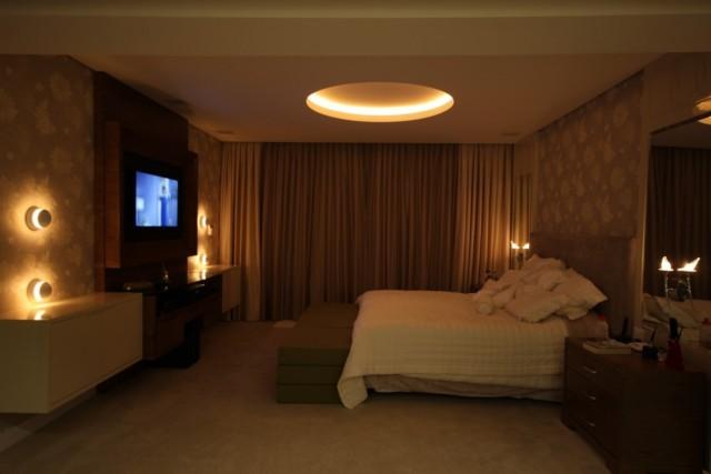 iluminação quarto de casal
