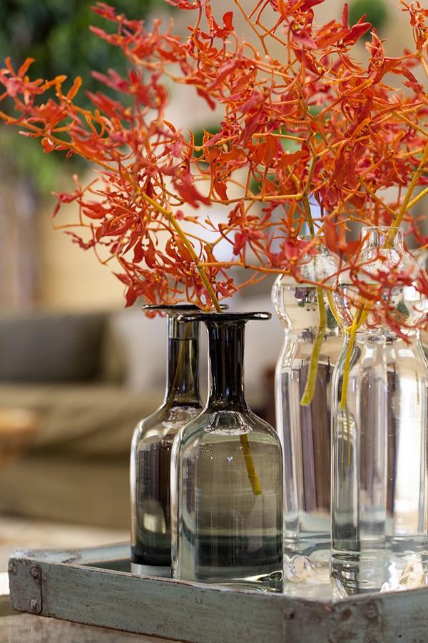 decoração vaso clean