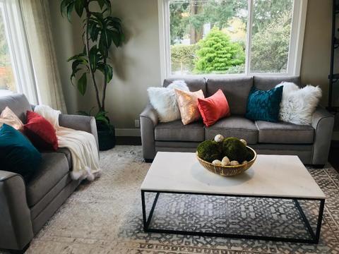 sala de estar tendência 2020