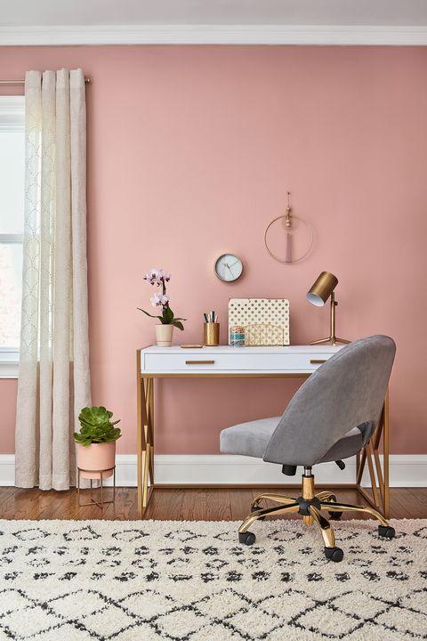 parede rosa