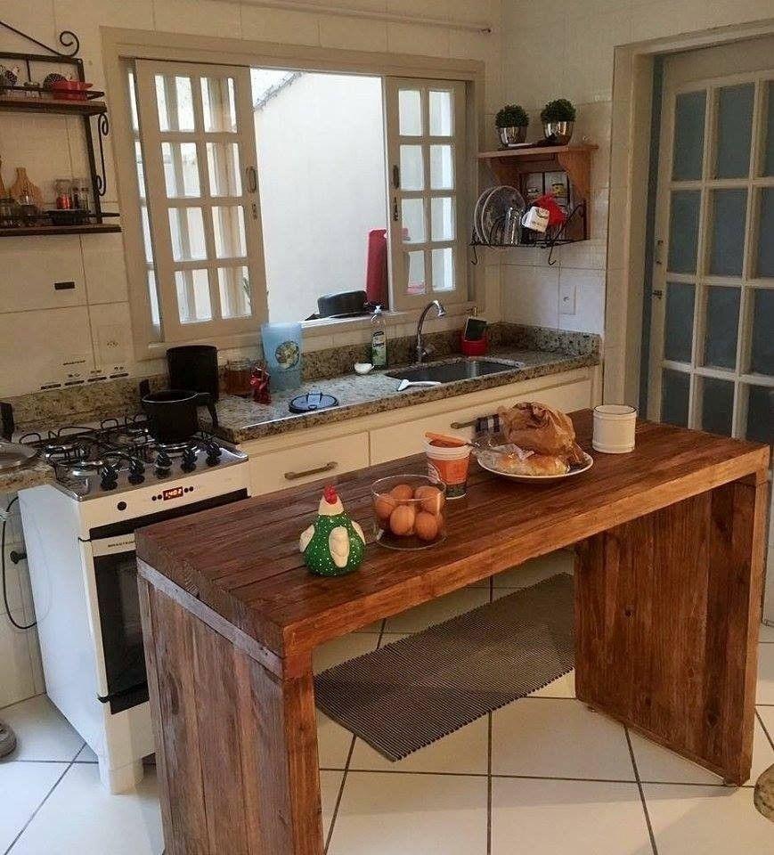 bancada de madeira rústica