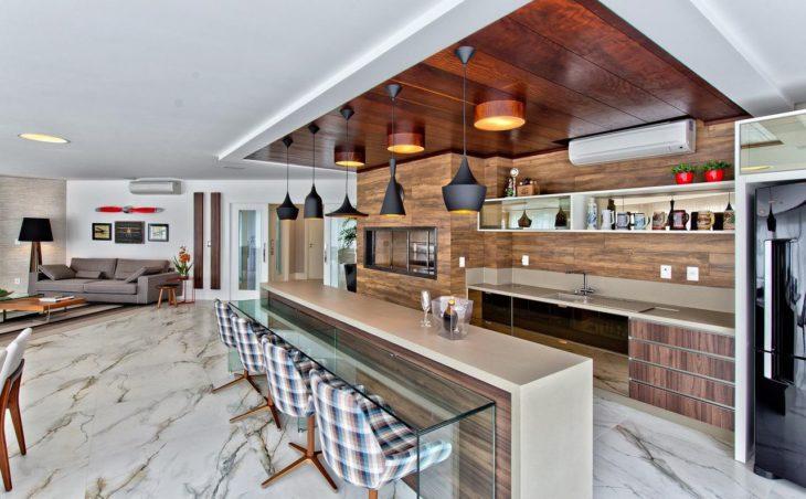 cozinha gourmet integrada