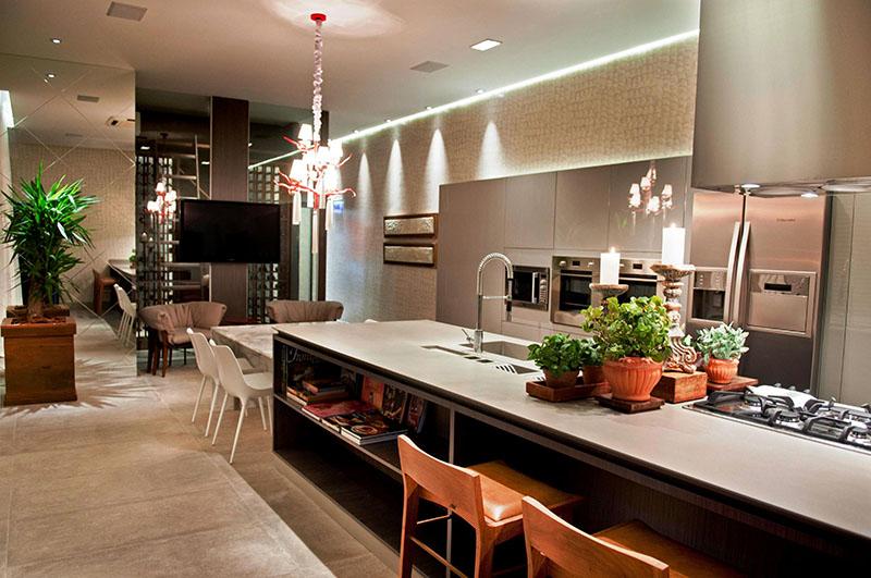 cozinha gourmet ampla