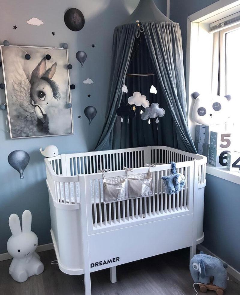espaço quarto de bebê