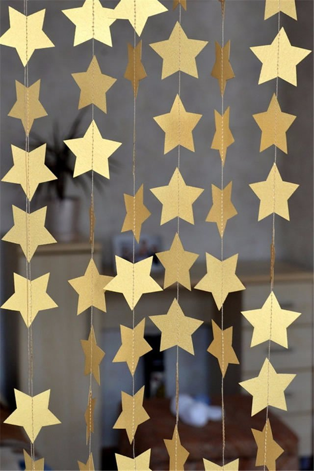Confete de estrelas