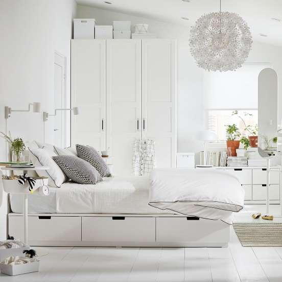 cama multiuso branca