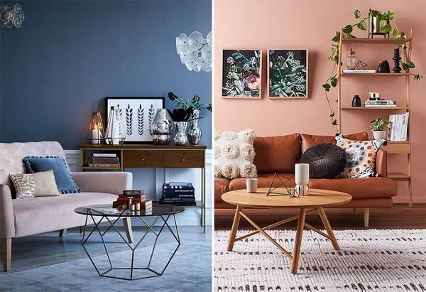 cores tendências na decoração